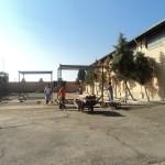 محوطه کارخانه قالیشویی ادیب