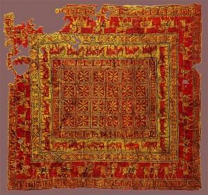 پازیریک-فرش-دستباف-بازرگانی-ادیب