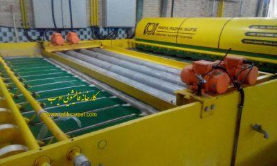قالیشویی ، کارخانه قالیشویی ادیب ، قالی شویی