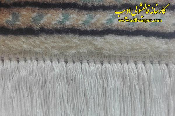 نمونه تنظیم ریشه دو گره، ریشه فرش دستباف