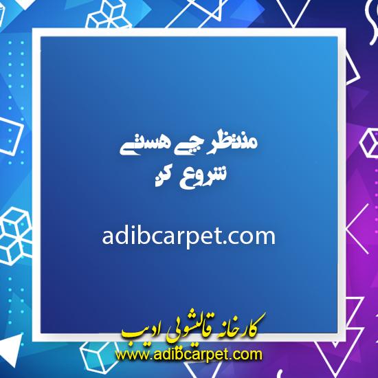 مسابقه کارخانه قالیشویی ادیب در ایام کرونا