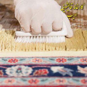 علت زرد آب فرش